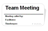 Free Team Meeting Minutes Template